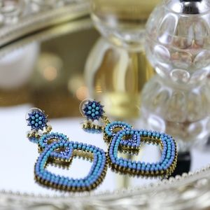Jewelry - Bohemian style long drop earrings